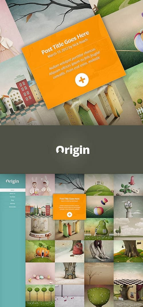 Origin Theme Preview