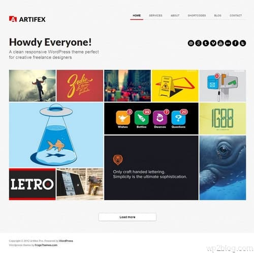 Artifex Pro WordPress Theme