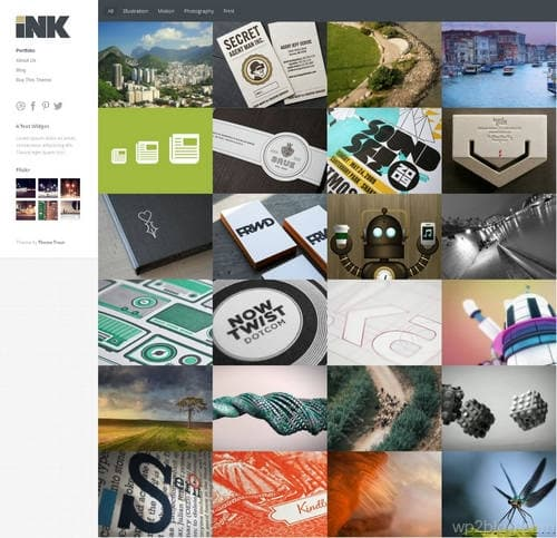 Ink WordPress Theme