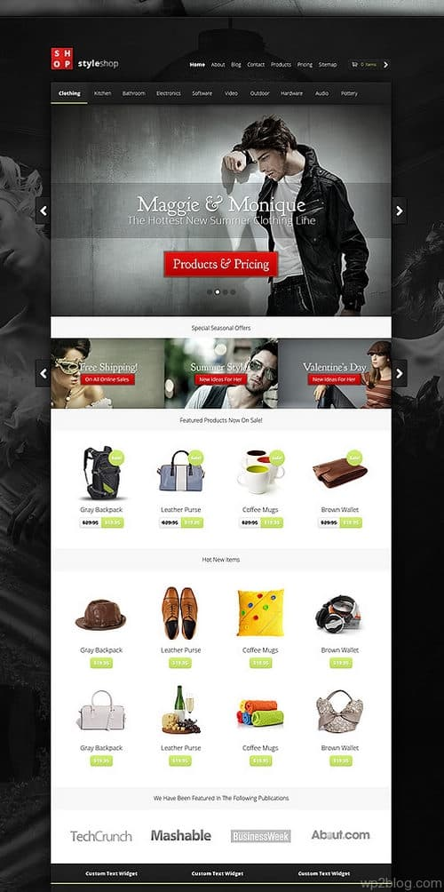 Styleshop Theme Preview