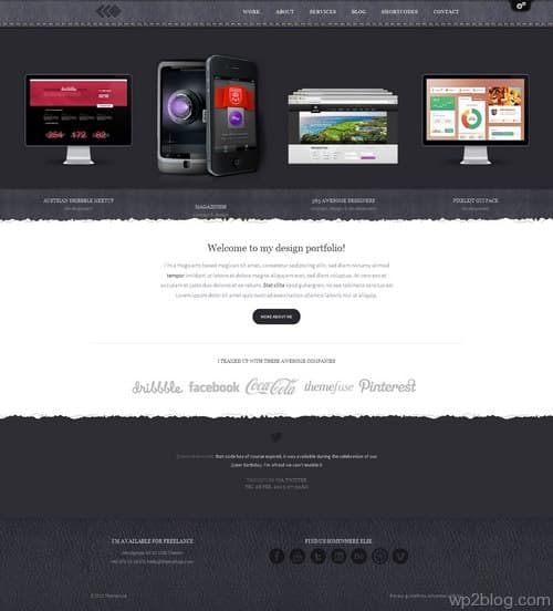 PixelWhiz WordPress Theme
