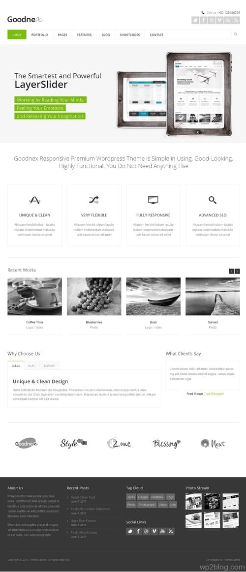 Goodnex WordPress Theme