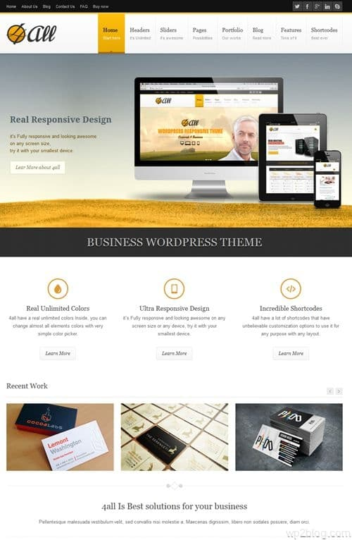 4all WordPress Theme