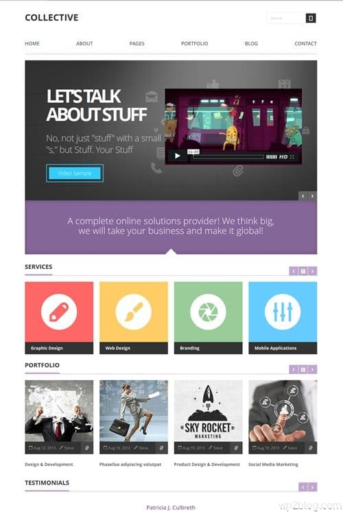 Collective WordPress Theme