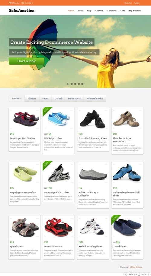 Sale Junction WordPress Theme