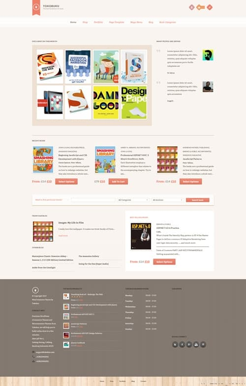 Raakbookoo WordPress Theme