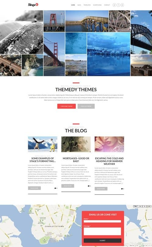 Stage v2.0 WordPress Theme