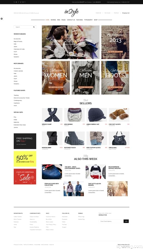 InStyle WordPress Theme