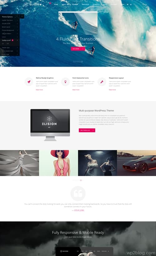 Elision WordPress Theme