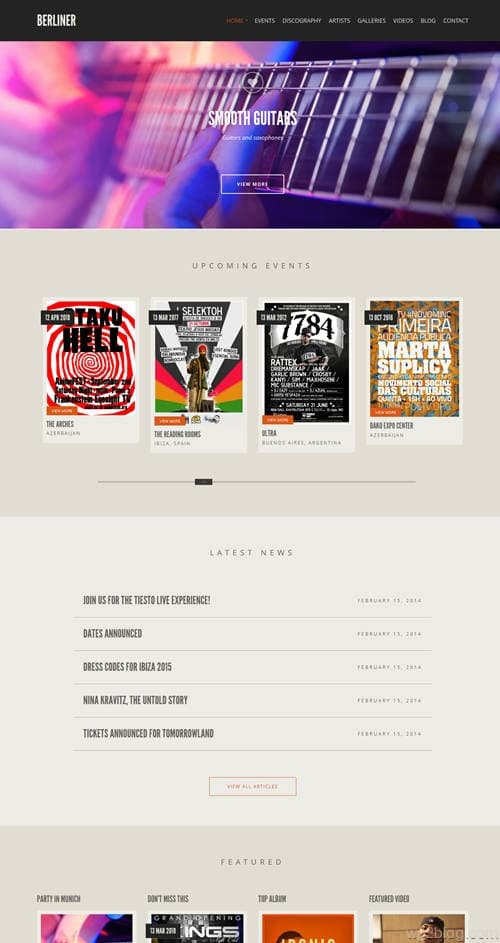 Berliner WordPress Theme