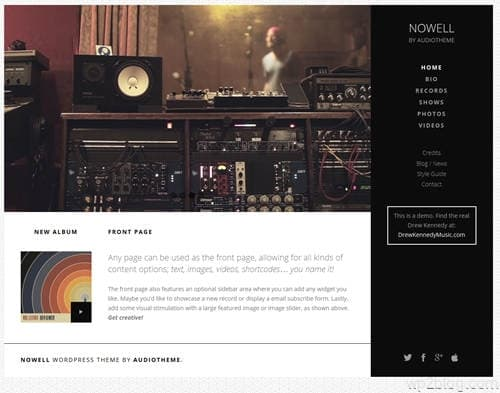 Nowell WordPress Theme
