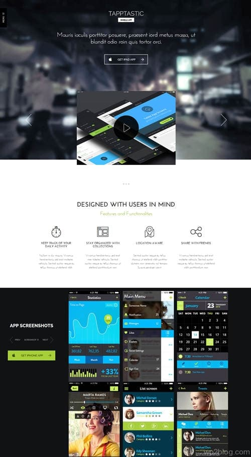 Tapptastic WordPress Theme