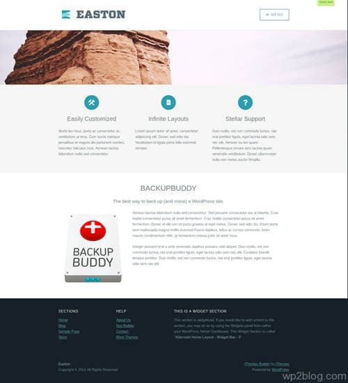 Easton WordPress Theme