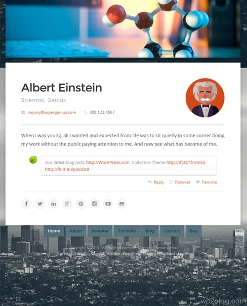 Connect WordPress Theme