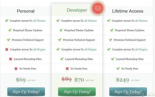 elegant themes dev license discount