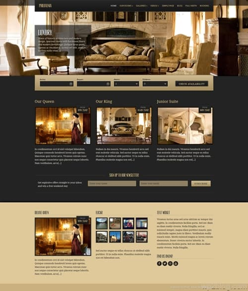Philoxenia WordPress Theme