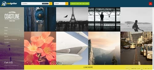 Coastline WordPress Theme