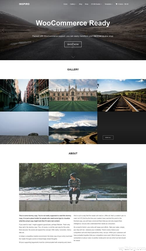 Inspiro WordPress Theme