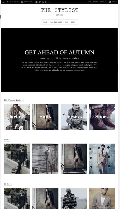 The Stylist WordPress Theme