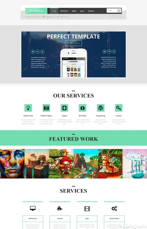 Yopta WordPress Theme