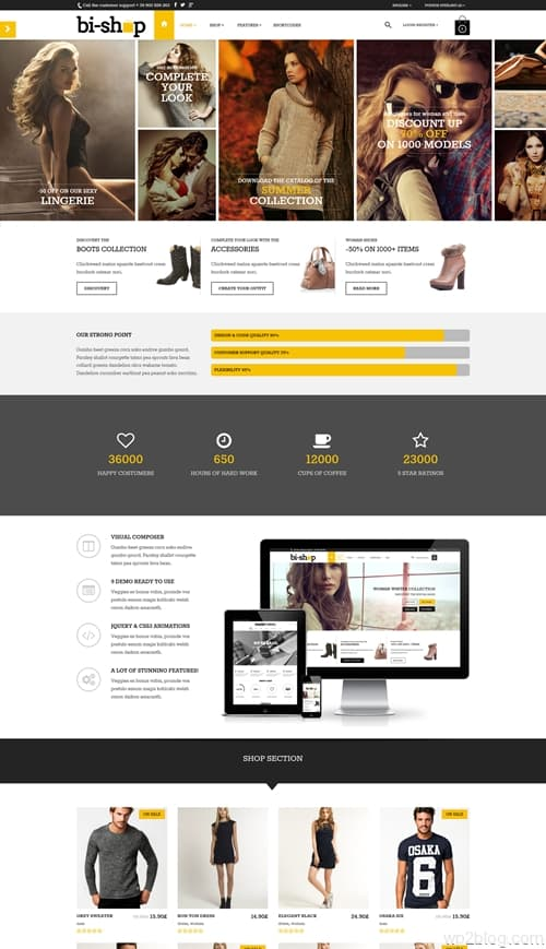 Bishop WordPress Theme