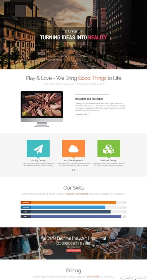 Z WordPress Theme