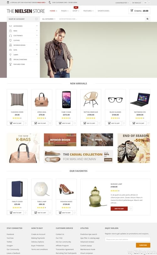 Nielsen WordPress Theme