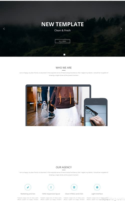 Motive WordPress Theme