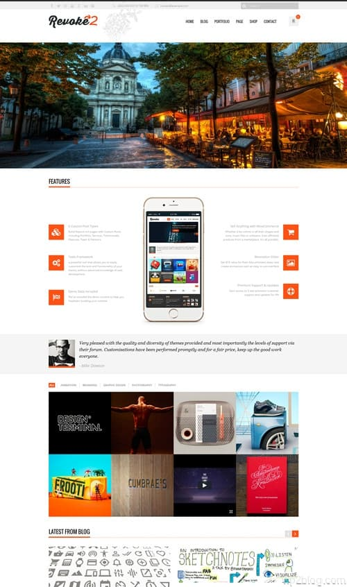 Revoke2 WordPress Theme