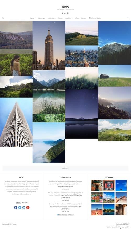 Tempo WordPress Theme