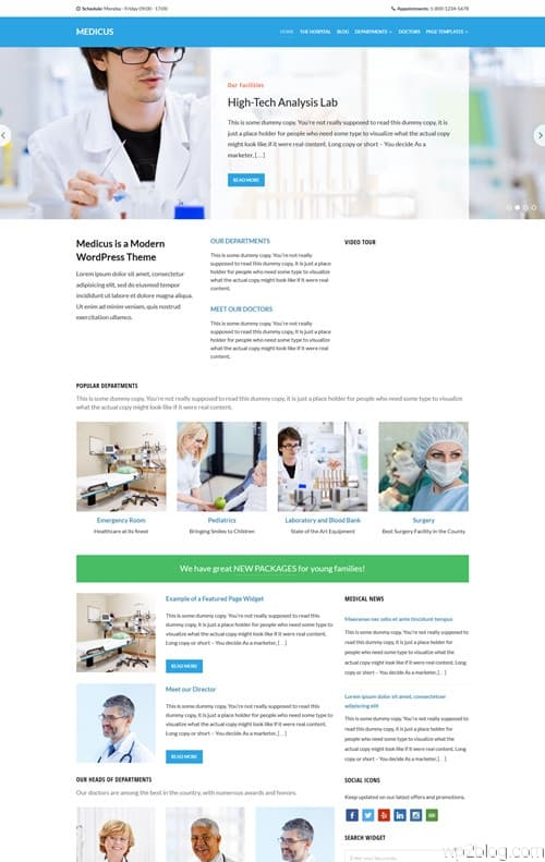 Medicus WordPress Theme