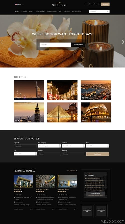 Splendor WordPress Theme