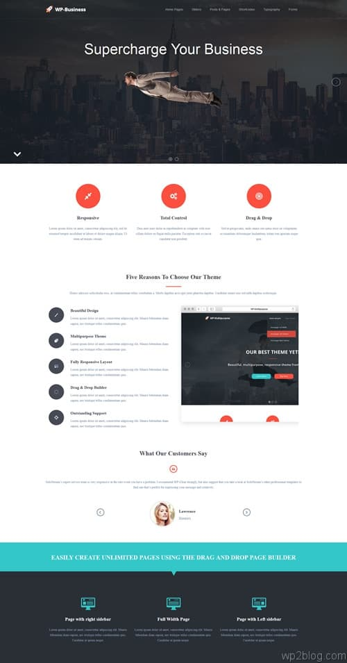WP-Business WordPress Theme