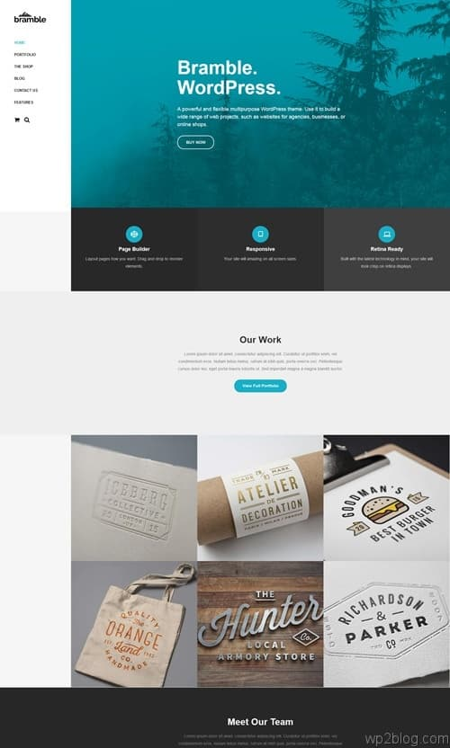 Bramble WordPress Theme
