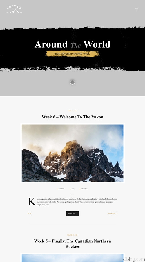 The Trip WordPress Theme