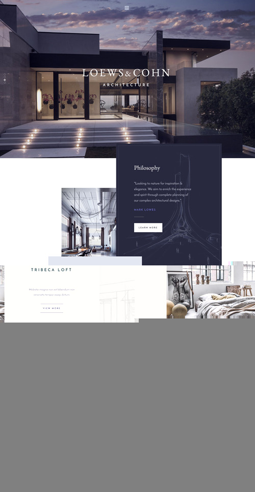 Architekt WordPress Theme