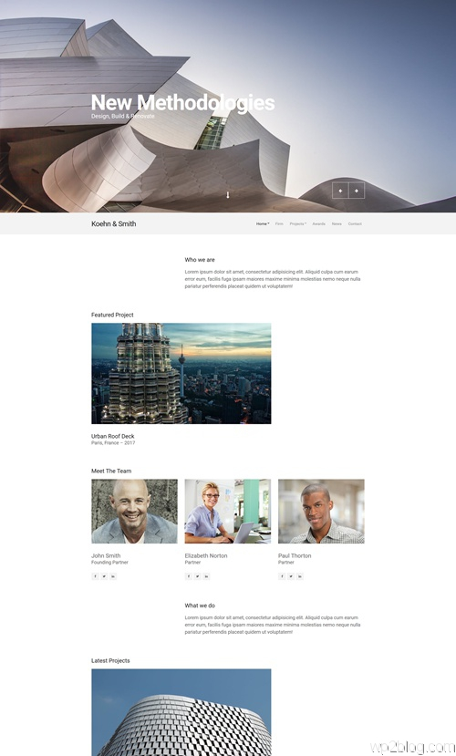 Koehn WordPress Theme