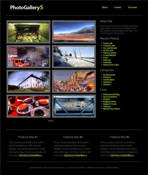 Photo Gallery 5 Theme