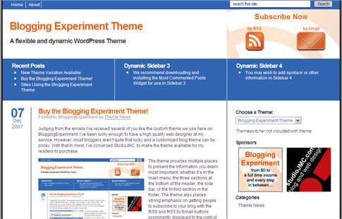 Blogging Experiment