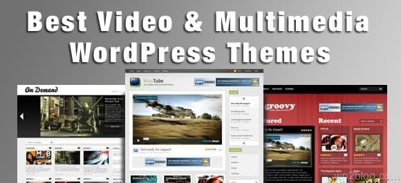 video and multimedia wordpress themes