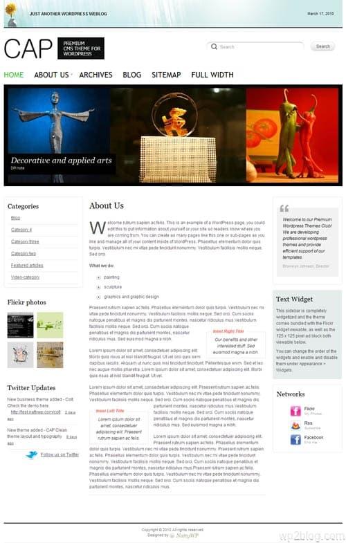 Cap Premium WordPress Theme