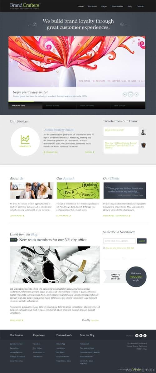 Brand Crafters Premium WordPress Theme
