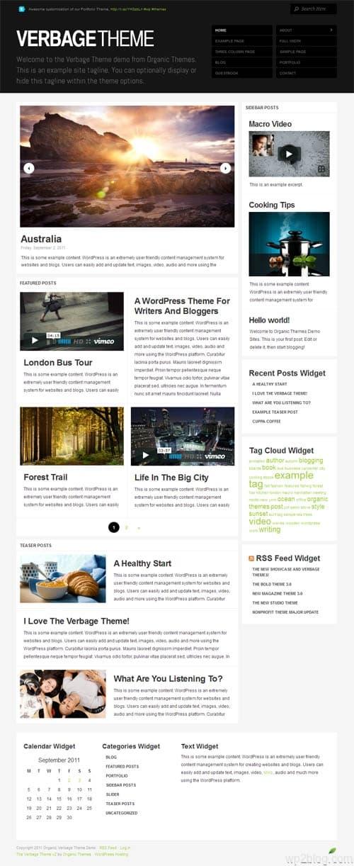 Verbage 2.0 Premium WordPress Theme