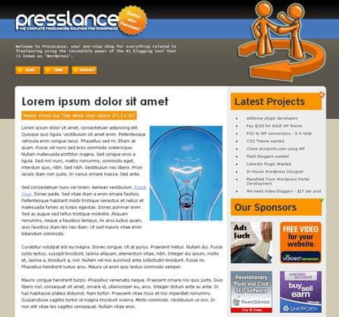 PressLance Theme
