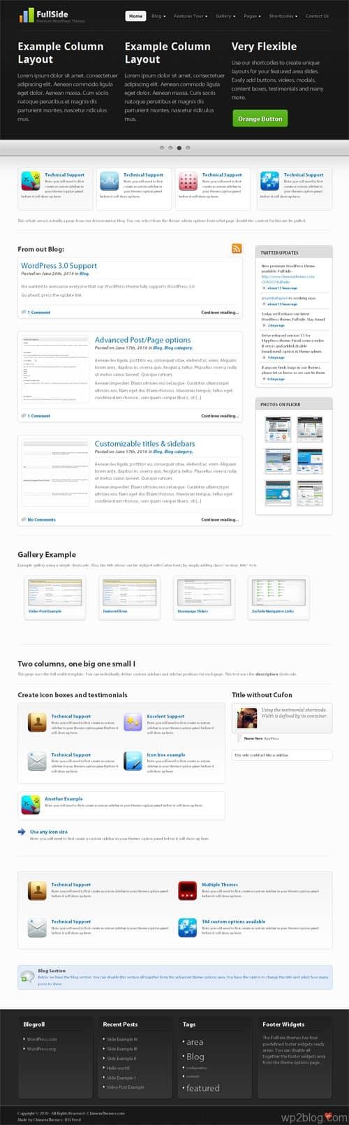 fullslide wordpress theme