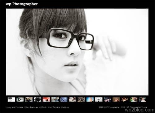 WP Photographer Premium WordPress Theme