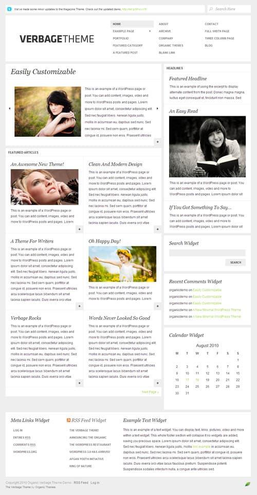 verbage-wordpress-theme