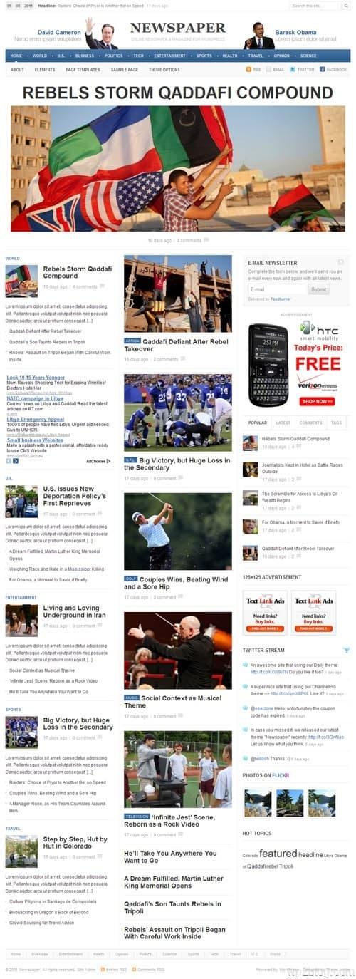 Newspaper 1.0 Premium WordPress Theme