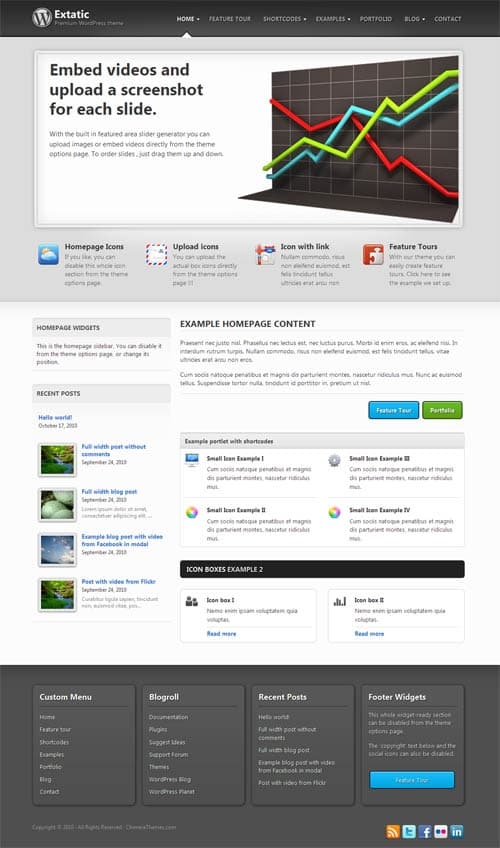 extatic-wordpress-theme