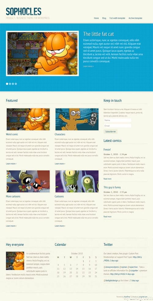 sophocles-wordpress-theme